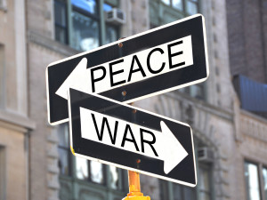 Peace and War Signs